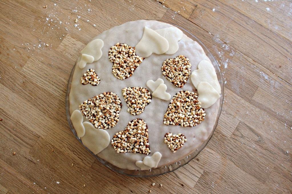 Marzipan – Kirsch Torte