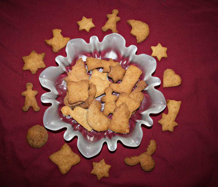 Braune Weihnachtskuchen