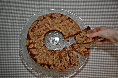 kürbiskuchen - streuselkuchen - kranzform