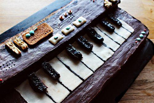 keyboard - ganache - schokolade