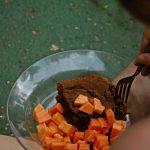papaya - blechkuchen