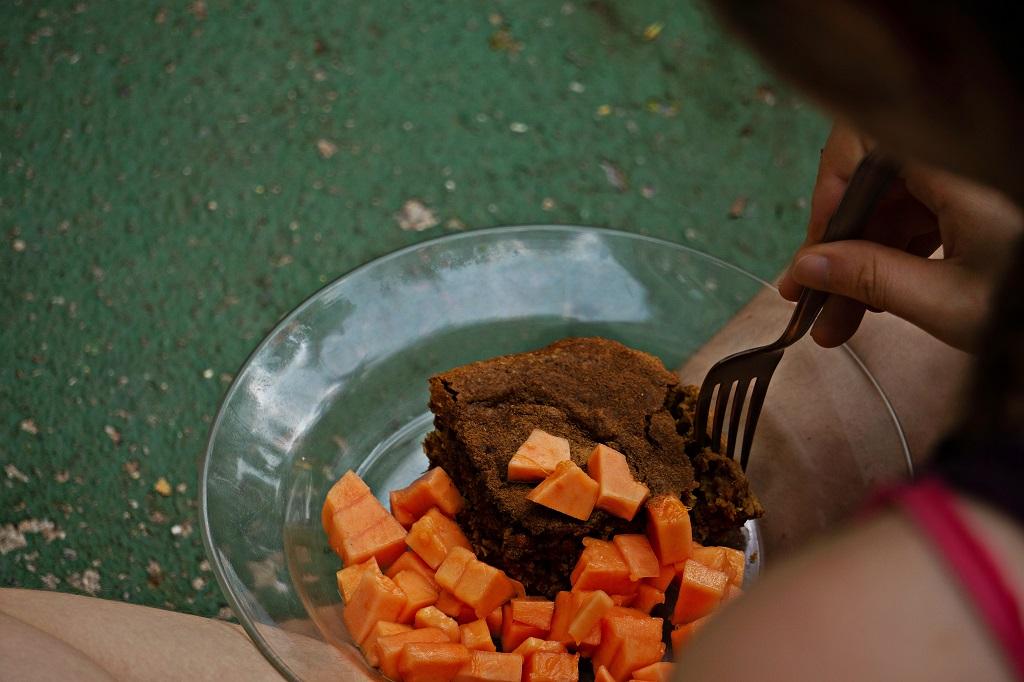 Papaya Kuchen